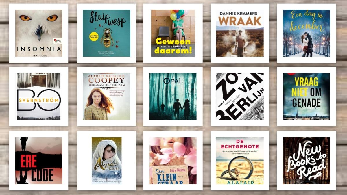 Welke boeken komen er deze week uit#week39